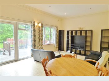 EasyRoommate UK - Double room in a 3 bedroom flat with garden and shared living room, London - £900 pcm