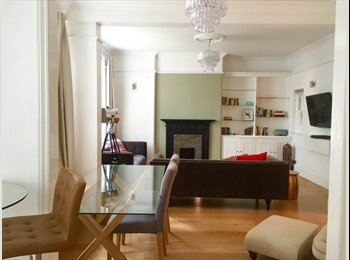 double room in bright, spacious Chelsea flat
