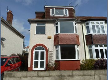 EasyRoommate UK - STUDENT/PROFESSIONAL house share in Horfield, Bristol - £400 pcm