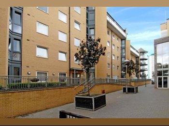 EasyRoommate UK - Luxury Flat large SINGLE Room,Feltham,Heathrow ,LONDON, Feltham - £475 pcm