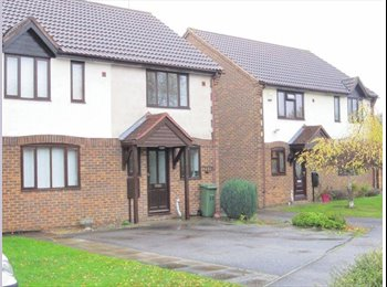EasyRoommate UK - double bedroom available in a 2 bed house - fully furnished, Newport Pagnell - £600 pcm