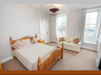 Large, spacious furnished double room