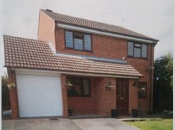 EasyRoommate UK -  3 double bedrooms, modern, close to major roads , Derby - £300 pcm