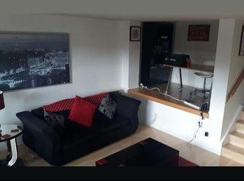 EasyRoommate UK - Superb City Centre Waterfront flat with balcony, Glasgow - £425 pcm