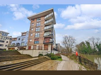 Beautiful Double bedroom|Riverside view|Maidstone town...
