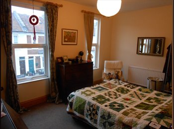 EasyRoommate UK - Large double room available (unfurnished) in relaxed houseshare in St. Werburghs from 01/11/16, Bristol - £495 pcm