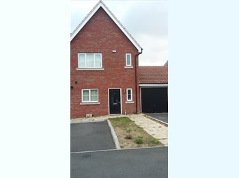 EasyRoommate UK - Double Room in New-build House , Basildon - £430 pcm