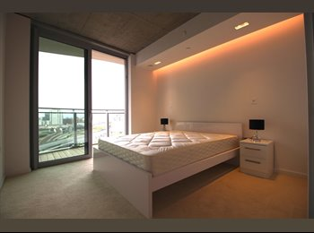 EasyRoommate UK - Spacious double room available in brand new development in Canning Town, London - £1,084 pcm
