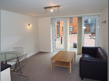 EasyRoommate UK - Two Bedroom Student Apartment in City Centre, Nottingham - £459 pcm