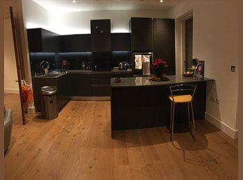 Lovely double bedrooms in penthouse flat