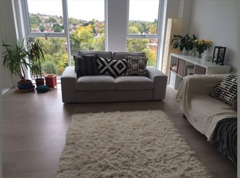 Large double in stunning flat - available 11th Feb