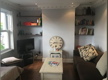 Gorgeous room with own bathroom in bright East Dulwich flat