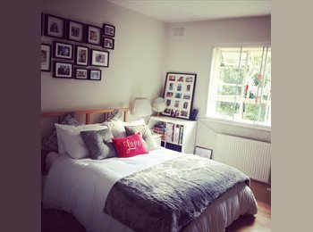 Big and sunny double room near Hampstead Heath
