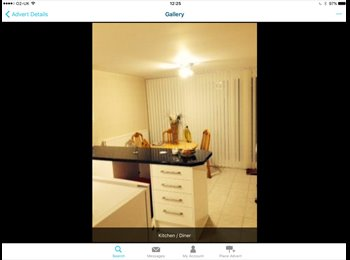 EasyRoommate UK - Double furnished bderoom, Runcorn - £320 pcm