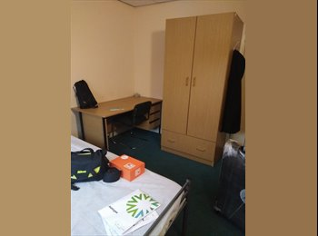 A double bed room in john lester court salford