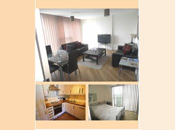 EasyRoommate UK - Room to rent in 7th floor apartment with Amazing views!!, Milton Keynes - £750 pcm