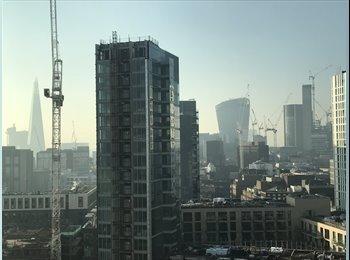 EasyRoommate UK - Awesome view over City of London, 16th Floor, Whitechapel - £1,300 pcm