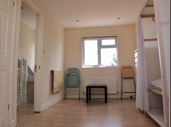 Large, bright loft room