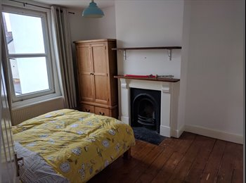 Light and airy double room in spacious professional house