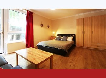 Massive room with private garden: No fees