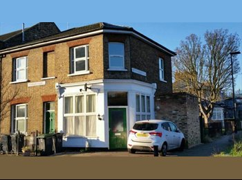 Large bright double Bedroom in 2 bed house + off Street...