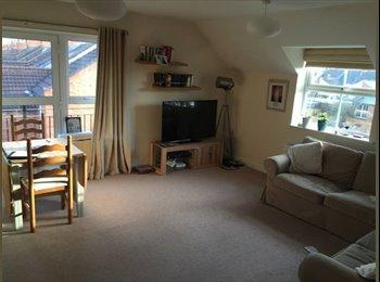 EasyRoommate UK - Bright double room in Abington, top floor flat , Abington - £390 pcm