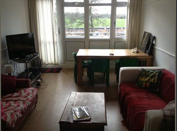 Bright Double Room, Shared Flat with Small Dog