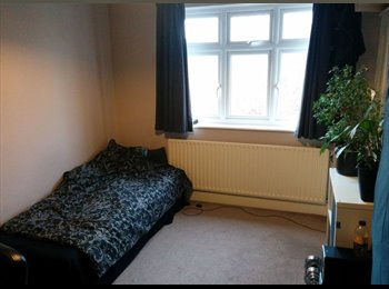 Spacious double bedroom to let in 3 bedroom house