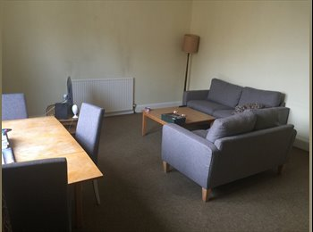double room to rent in large 2 bedroom flat