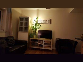 Double-bedroom in a modern flat