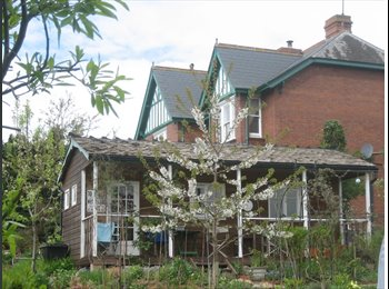 EasyRoommate UK - Lovely double room in country house just outside Exeter, Exeter - £420 pcm