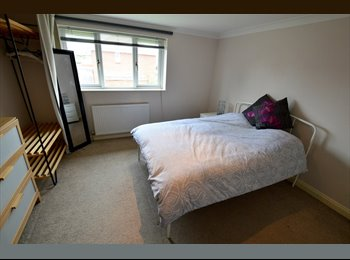 EasyRoommate UK - Good sized double room in houseshare with one housemate, Broadstone - £425 pcm