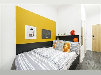 EasyRoommate UK - King's Cross Student Accommodation En-Suite, St Pancras - £1,115 pcm