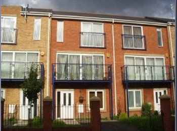 Brand new 3-storey town house in Hulme - DOUBLE ROOM...