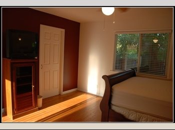 Large Master Bedroom /w own Private Entrance and Bath