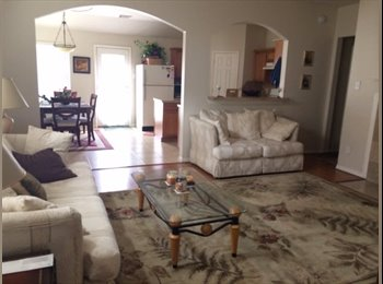 Nice furnished bedroom in a nice 3/2/2 house in real nice...