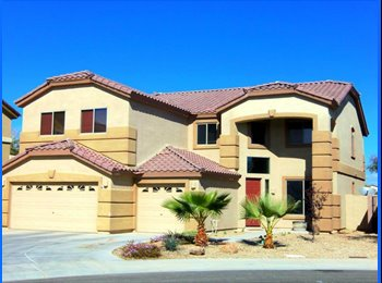 EasyRoommate US - Room For Rent In Large Beautiful Home. - Surprise, Phoenix - $500 /mo