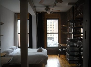Dec.1, 2015 furnished room with a PRIVATE door (Studio...