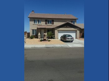 EasyRoommate US - Large home with room for rent in Victorville - Victorville, Southeast California - $500 pcm