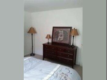 Furnished single occupancy basement bedroom