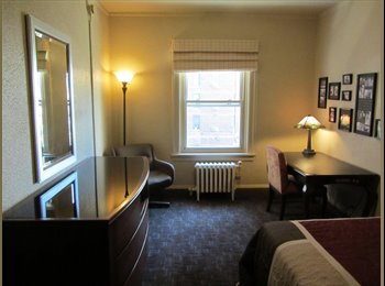 EasyRoommate US - GOLD COAST - Private room & Bath in Former Hotel - Near North Side, Chicago - $599 /mo