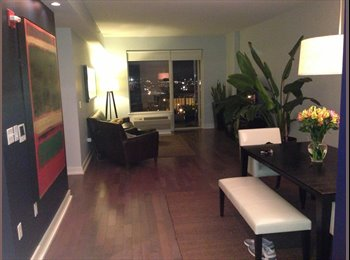 Room for rent Luxury Condo 15 minutes from NYC