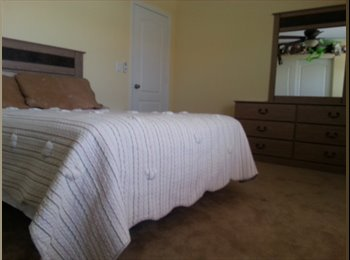 Private large,quiet home, furnished room available