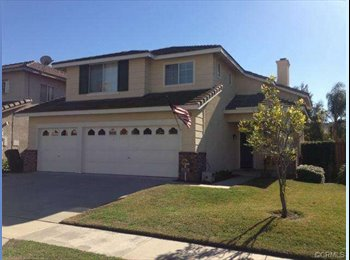 EasyRoommate US - 550 CHINO HILLS HOUSE ROOM 4 RENT - Chino Hills, Southeast California - $550 pcm
