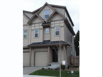 EasyRoommate US - Room for rent in brand new town home. - Washington County, Hillsboro - $600 pcm