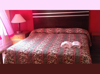 Monthly rooms with fully furnished