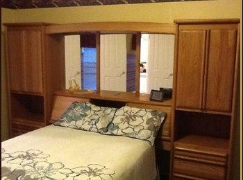 Large master Bedroom/ bath for 600/month
