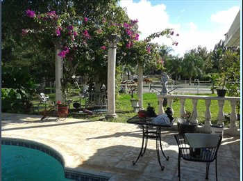 EasyRoommate US - Weston/Southwest Ranches - Weston, Ft Lauderdale Area - $750 pcm