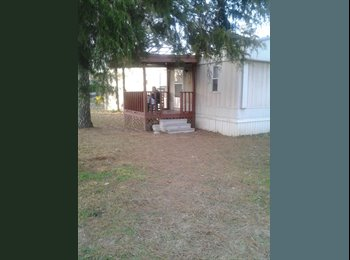 EasyRoommate US - Room n mobile home for rent - Sheffield, Other-Alabama - $400 pcm