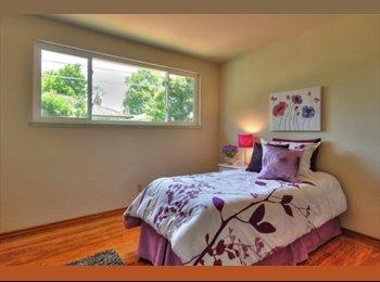 EasyRoommate US - Charming Sunnyvale House - Sunnyvale, San Jose Area - $980 pcm